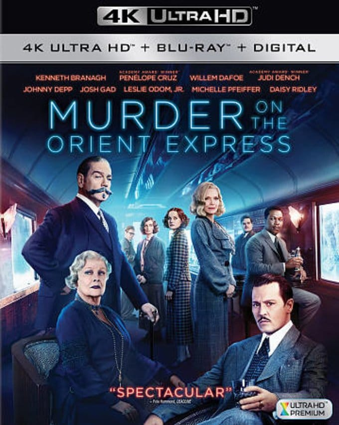 Murder on the Orient Express 4K HDR 2017 Ultra HD 2160p