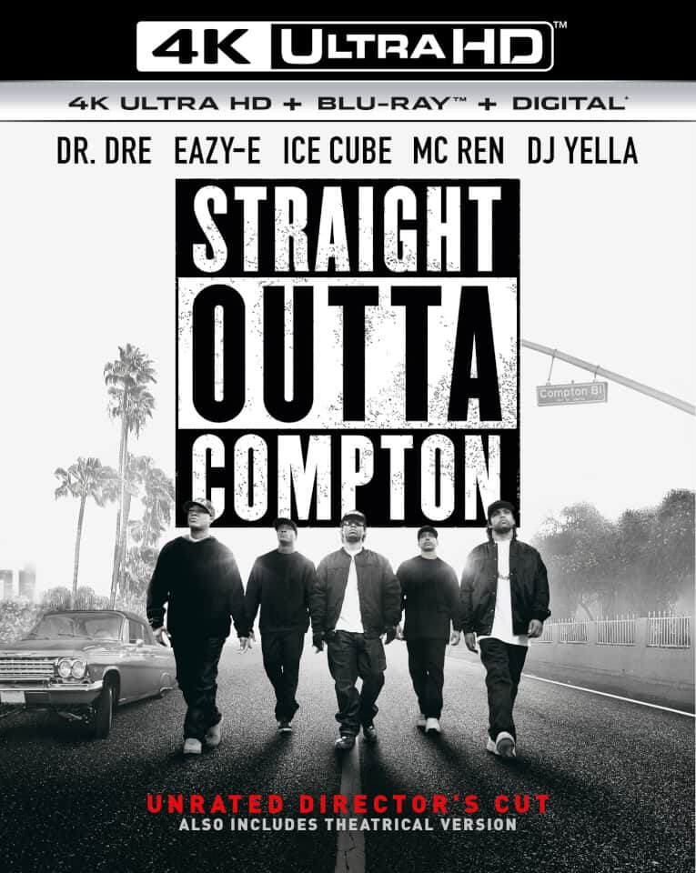 Straight Outta Compton 4K HDR 2015 Ultra HD 2160p