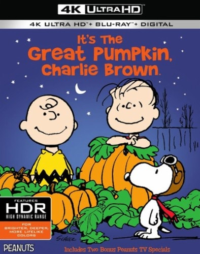 It's the Great Pumpkin, Charlie Brown 4K 1966 UHD 2160p