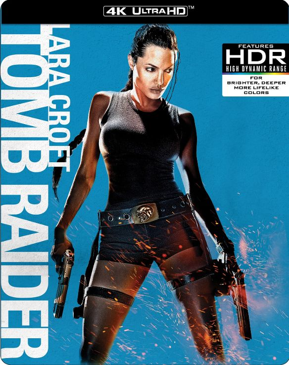 Lara Croft Tomb Raider 4K HDR RIP 2001 Ultra HD 2160p