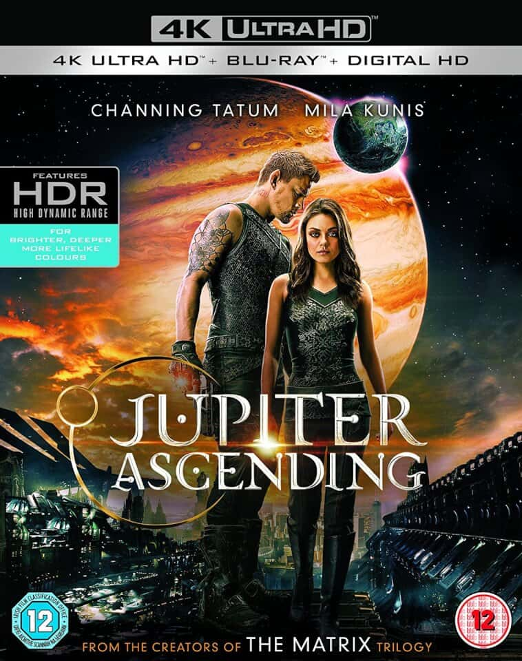 Jupiter Ascending 4K HDR RIP 2015 Ultra HD 2160p