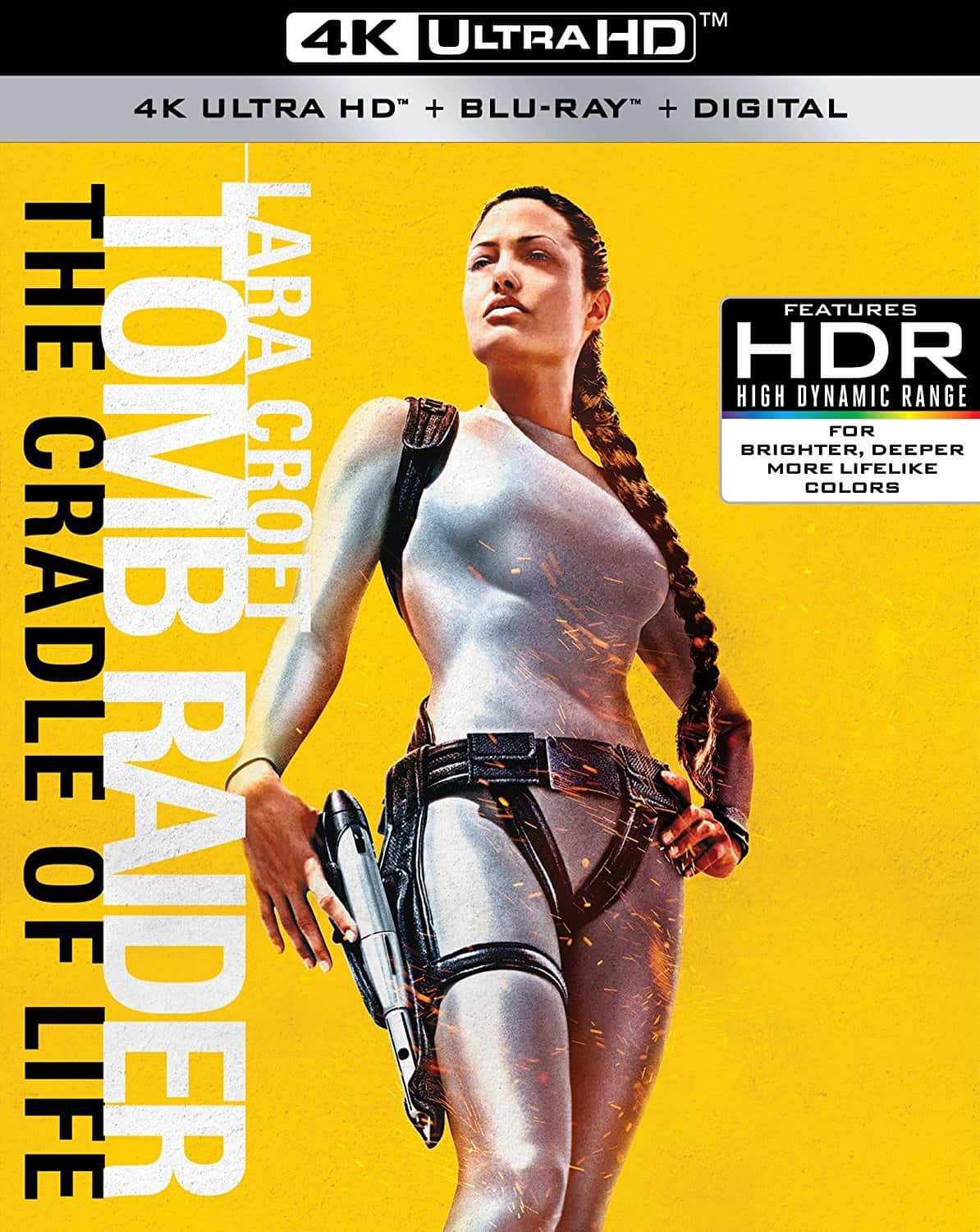 Lara Croft Tomb Raider The Cradle of Life 4K HDR 2003 Ultra HD 2160p