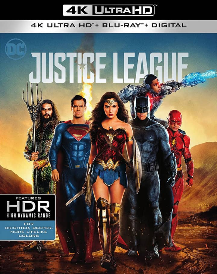Justice League 4K HDR 2017 RIP UHD 2160p
