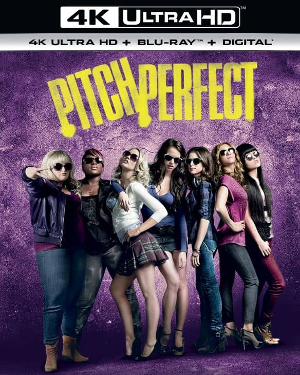 Pitch Perfect 4K HDR 2012 Ultra HD 2160p