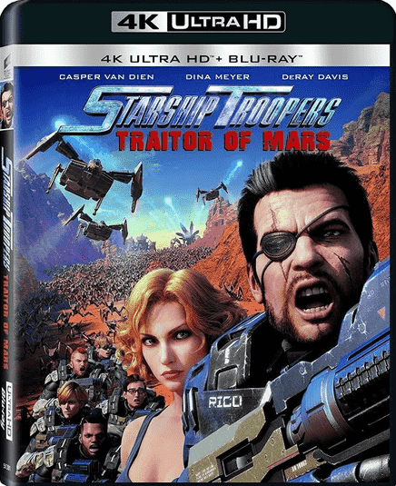 Starship Troopers Traitor of Mars 4K HDR 2017 UHD 2160p
