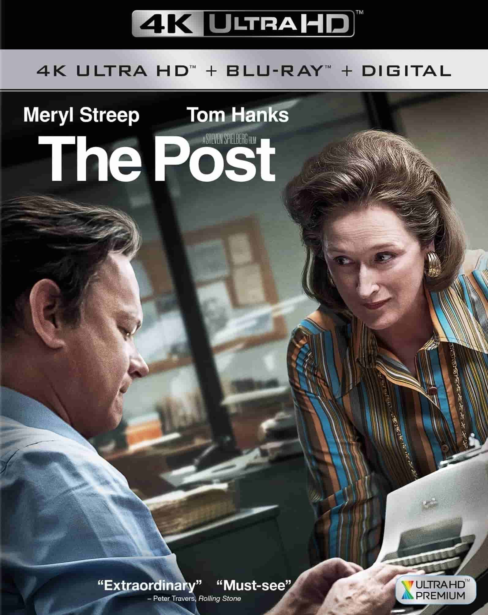 The Post 4K HDR 2017 Ultra HD Blu-ray RIP