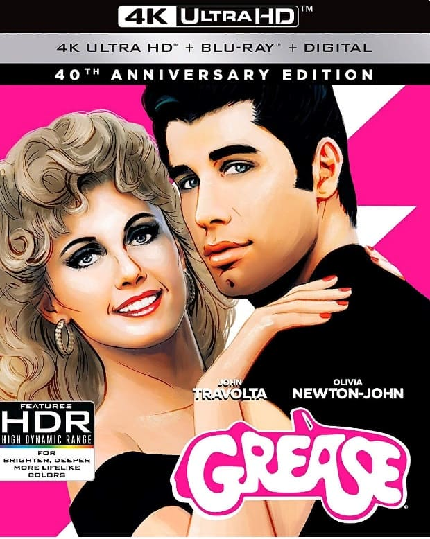 Grease 4K 1978 Blu-ray RIP Ultra HD 2160p