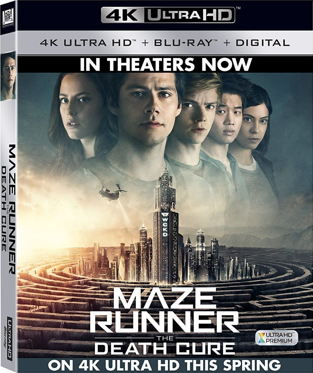 Maze Runner The Death Cure 4K 2018 HDR