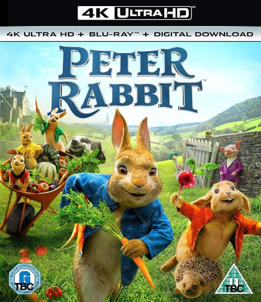 Peter Rabbit 4K 2018 HDR 2160p