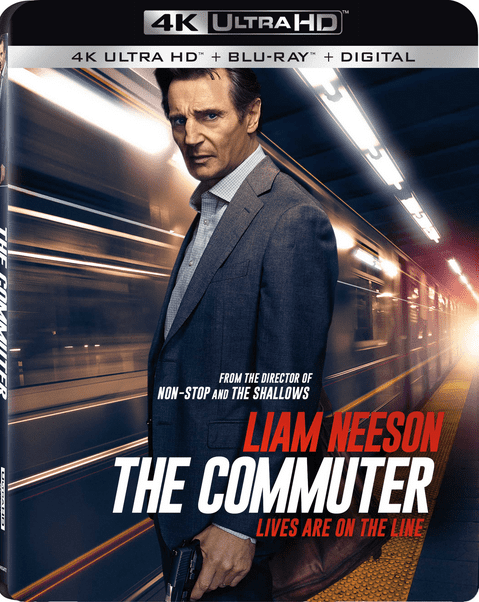 The Commuter 4K HDR 2018 rip