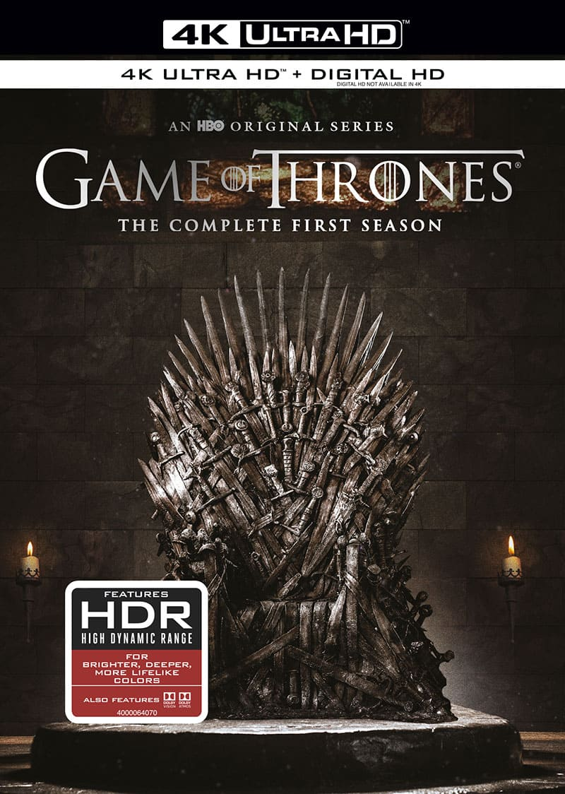 Game of Thrones Season 1 4K HDR UHD
