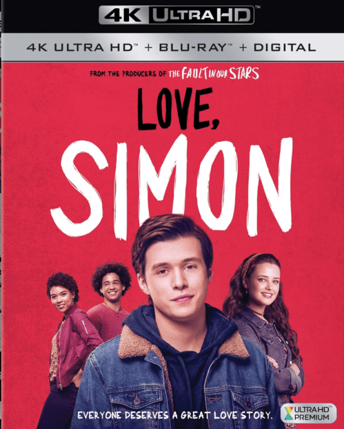 Love, Simon 4K HDR 2018 Ultra HD