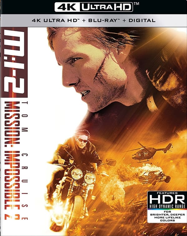 Mission Impossible 2 4K 2000 Ultra HD