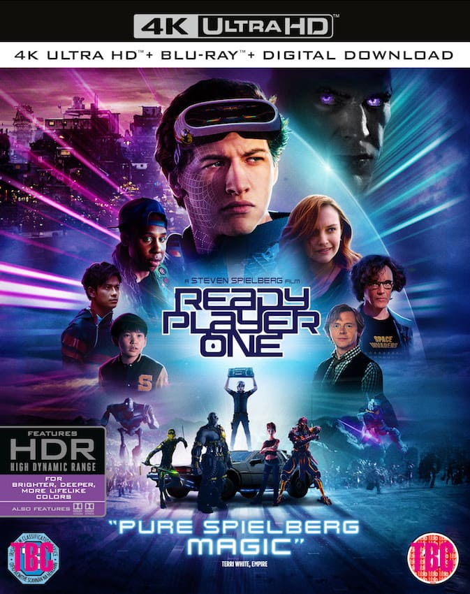 Ready Player One 4K 2018 HDR Ultra HD