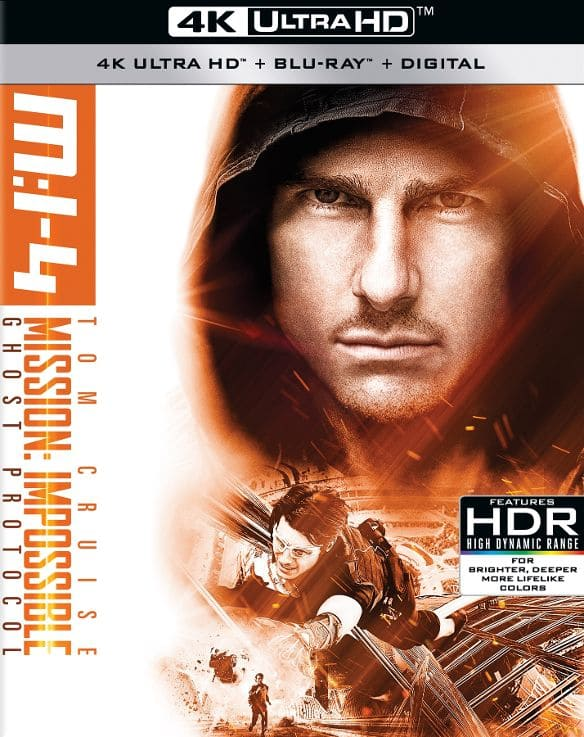 Mission: Impossible - Ghost Protocol 4K HDR 2011 Ultra HD
