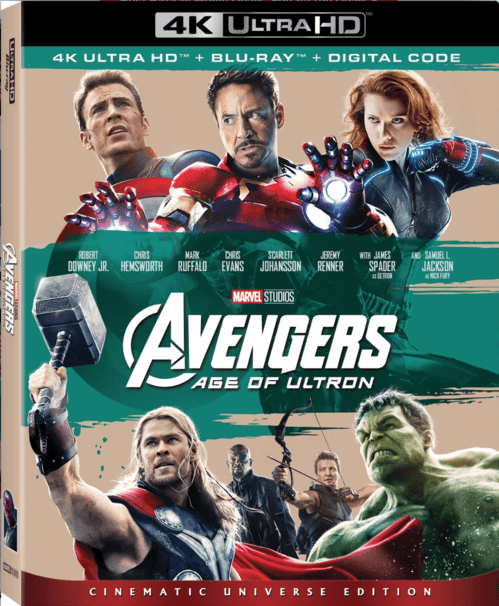 Avengers: Age of Ultron 4K 2015 Ultra HD