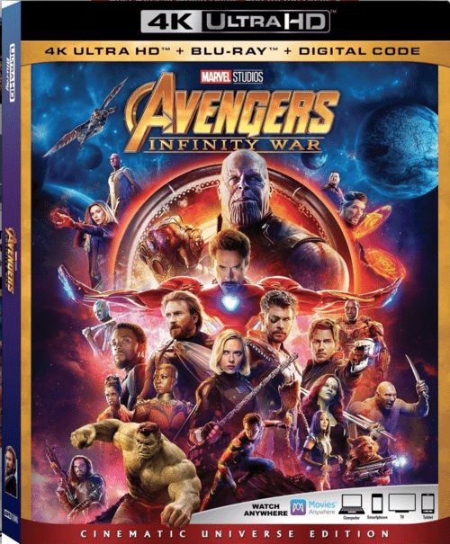 Avengers: Infinity War 4K 2018 Ultra HD
