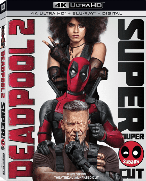 Deadpool 2 4K 2018 Ultra HD