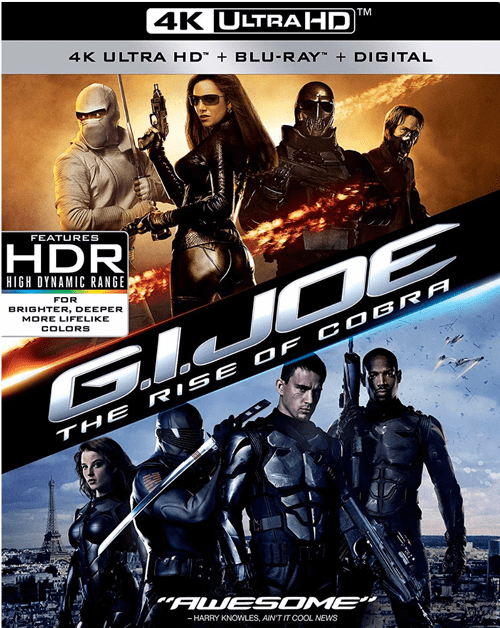 G.I. Joe: The Rise of Cobra 4K 2009 Ultra HD