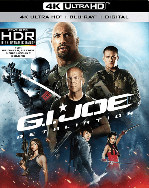 G.I. Joe: Retaliation 4K 2013 Ultra HD