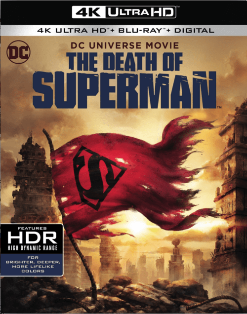 The Death of Superman 4K 2018 Ultra HD