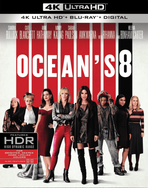 Ocean's Eight 4K 2018 Ultra HD