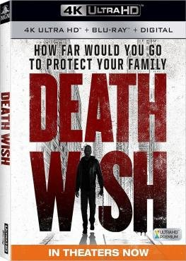 Death Wish 4K 2018 Ultra HD 2160p