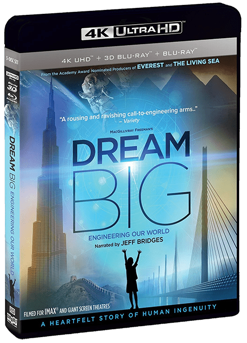Dream Big: Engineering Our World 4K 2017 Ultra HD