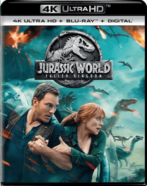 Jurassic World: Fallen Kingdom 4K 2018 Ultra HD 2160p