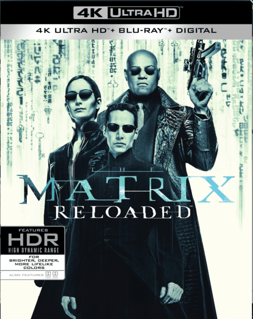 The Matrix Reloaded 4K 2003 Ultra HD 2160p