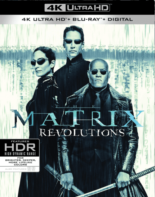 The Matrix Revolutions 4K 2003 Ultra HD 2160p