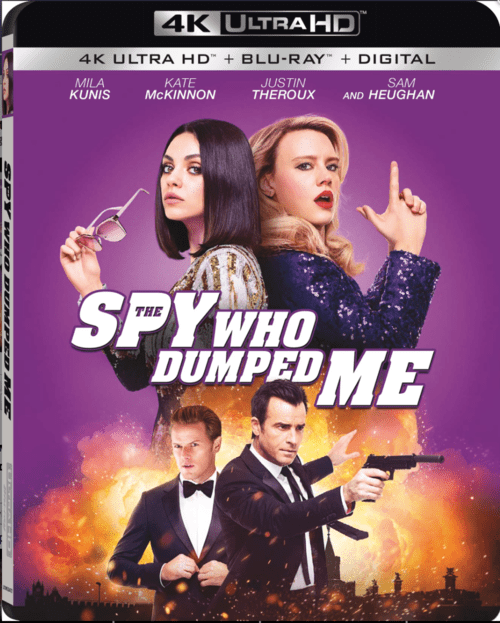 The Spy Who Dumped Me 4K 2018 Ultra HD 2160p