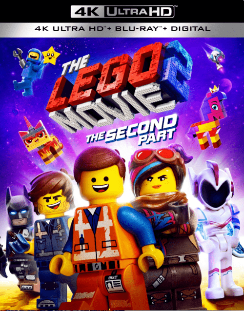 The Lego Movie 2 The Second Part 4K 2019 Ultra HD  2160p