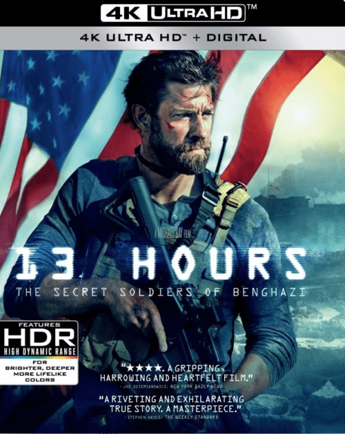 13 Hours The Secret Soldiers Of Benghazi 4K 2016 Ultra