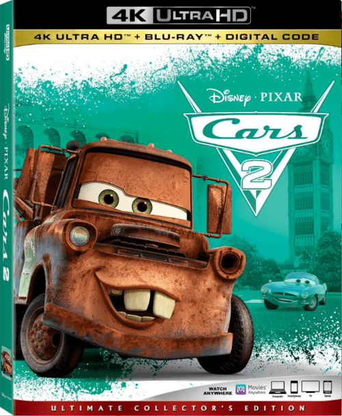 Cars 2 4K 2011 Ultra HD