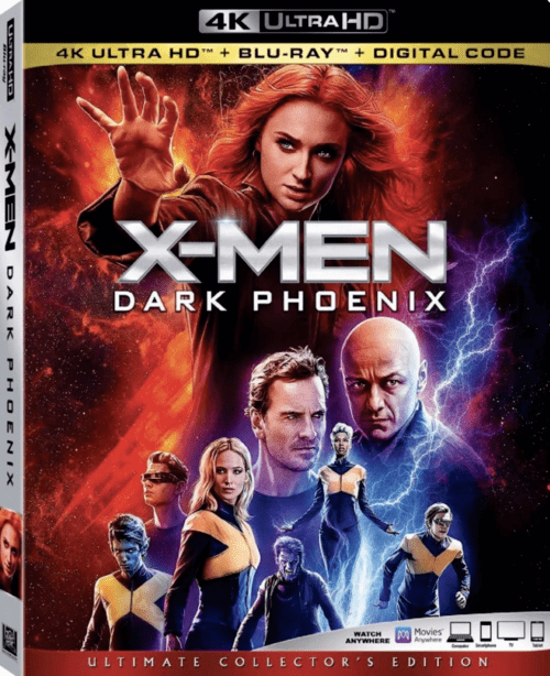 Dark Phoenix 4K 2019 Ultra HD