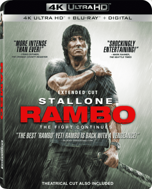 Rambo 4K 2008 EXTENDED Ultra HD