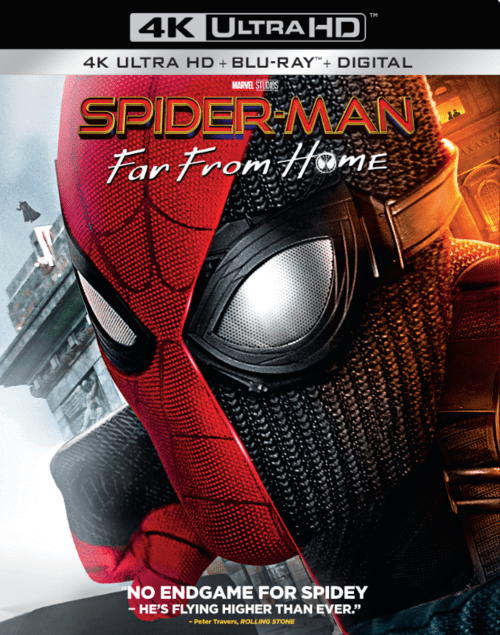 Spider-Man Far from Home 4K 2019 Ultra HD