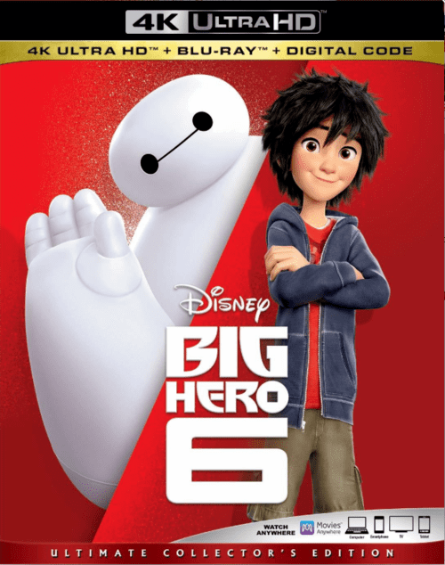 Big Hero 6 4K 2014 Ultra HD