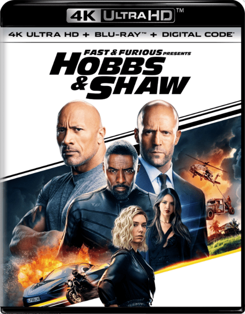Fast and Furious Presents Hobbs and Shaw 4K 2019 Ultra HD
