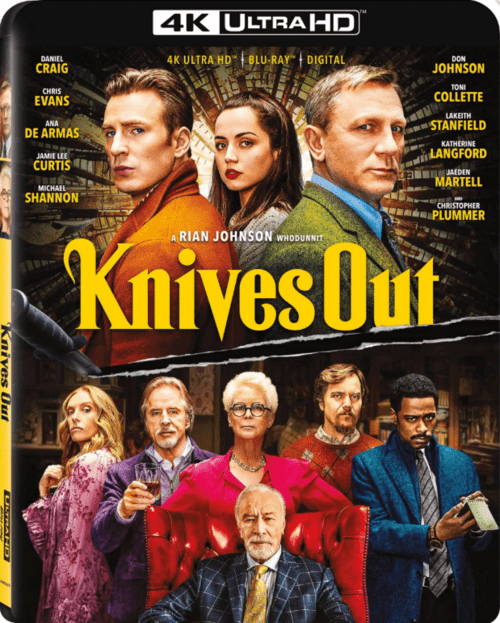 Knives Out 4K 2019 Ultra HD 2160p