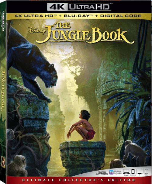 The Jungle Book 4K 2016 Ultra HD 2160p