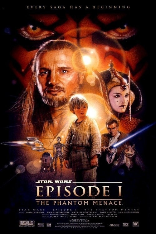 Star War Episode I The Phantom Menace 4K 1999 Ultra HD 2016p
