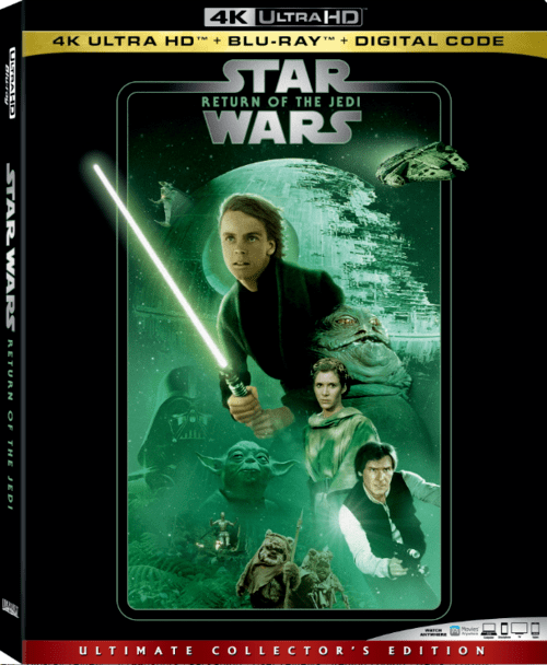 Star Wars Episode VI Return of the Jedi 4K 1983 Ultra HD 2160p