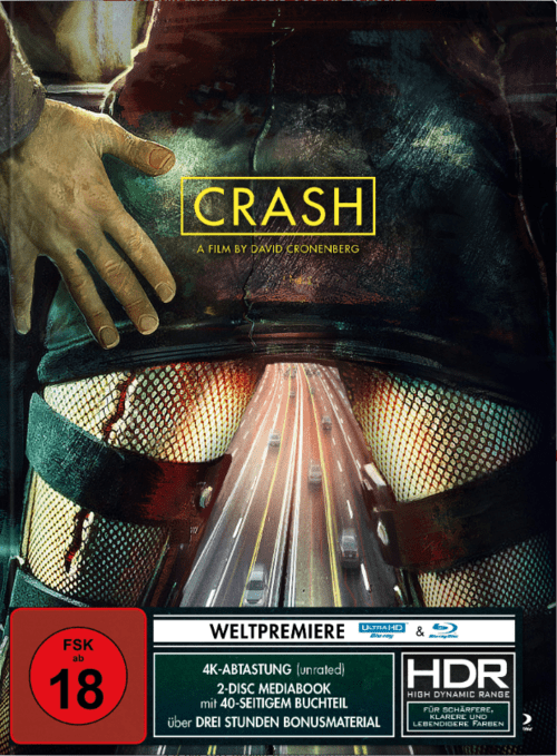 Crash 4K 1996 UNRATED Ultra HD 2160p