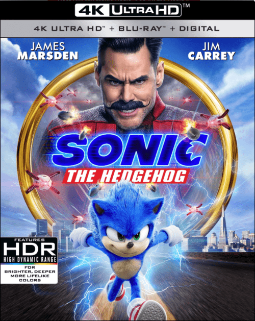 Sonic the Hedgehog 4K 2020 Ultra HD 2160p