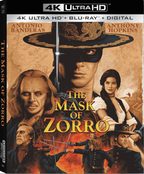 The Mask of Zorro 4K 1998 Ultra HD 2160p