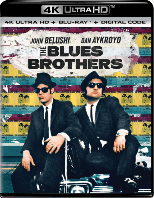 The Blues Brothers 4K 1980 EXTENDED Ultra HD 2160p