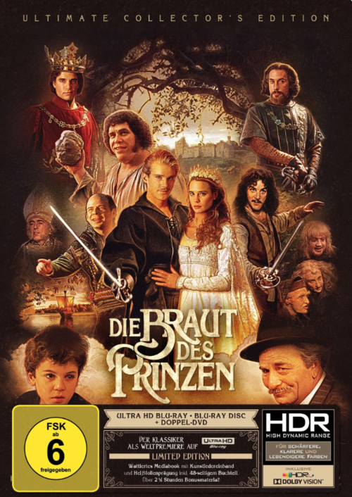 The Princess Bride 4K 1987 Ultra HD 2160p
