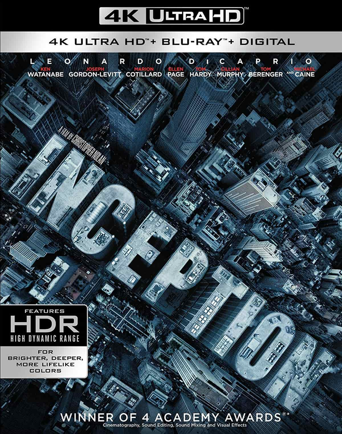 Inception 4K 2010 Ultra HD 2160p